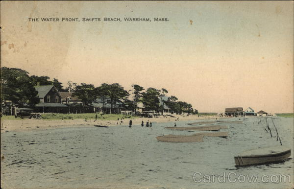 The Water Front at Swifts Beach Wareham Massachusetts