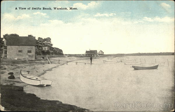 A View of Swifts Beach Wareham Massachusetts
