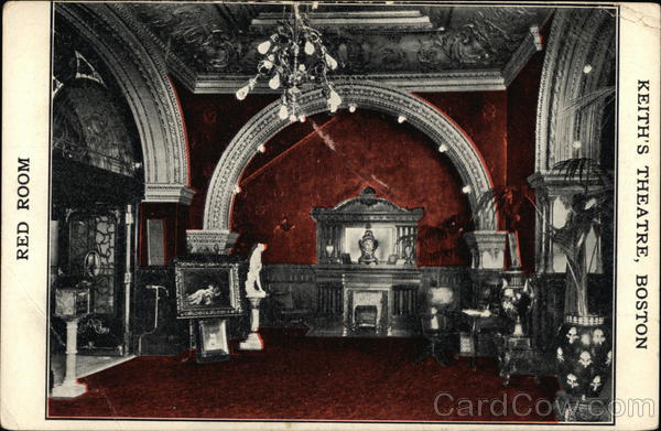 The Red Room at Keith's Theatre Boston Massachusetts