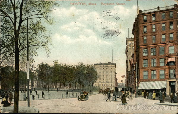 Boylston Street Boston Massachusetts