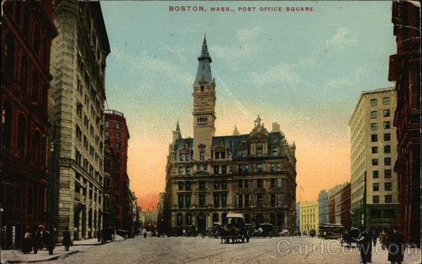 Post Office Square Boston Massachusetts
