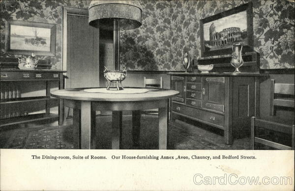 The Dining Room, Suite of Rooms, Jordan Marsh Company Boston Massachusetts