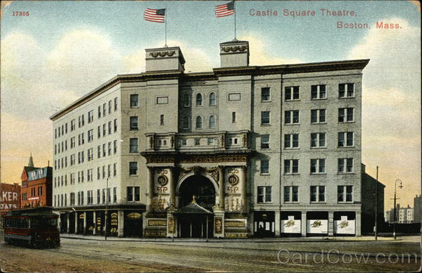 Street View of Castle Square Theatre Boston Massachusetts
