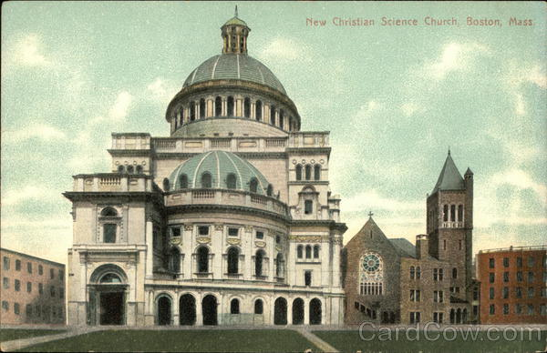 New Christian Science Church Boston Massachusetts