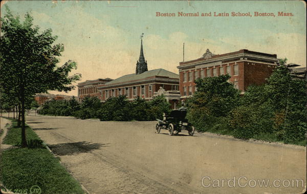 Boston Normal and Latin School Massachusetts
