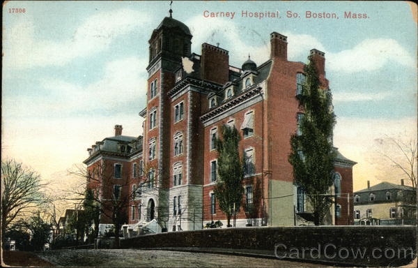Street View of Carney Hospital Boston Massachusetts