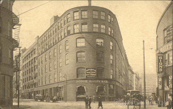 Dodge Haley & Co. Building Boston Massachusetts