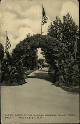 The Entrance to the Subway, Genesee Valley Park