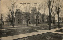 Street View of State Normal School Postcard