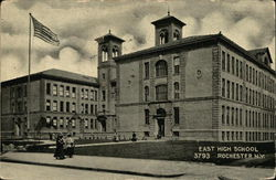 Street View of East High School