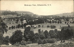 Birds-eye View of Gilbertsville, N.Y.