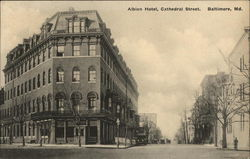 Albion Hotel on Cathedral Street