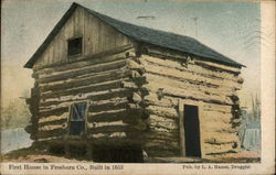 First House in Freeborn - Built in 1853