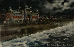 Bath House by Moonlight