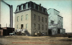 Mill and Elevator in the Overland Cereal Company