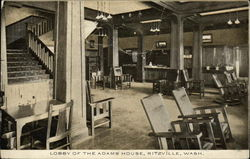 Lobby of the Adams House, Ritzville, Wash.