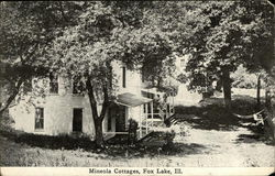 Mineola Cottages Postcard