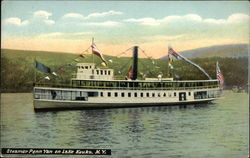 Steamer Penn Yan on Lake Kauka