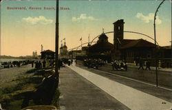 Boulevard, Revere Beach, Mass.