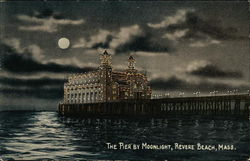 The Pier by Moonlight