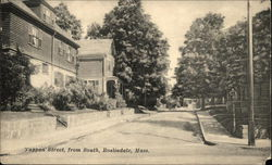 Tappan Street, from South