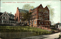 Street View of West Robury High School