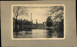 Glimpse of Lewis Manufacturing Company Plant