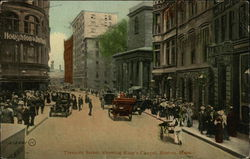 Tremont Street, showing King's Chapel