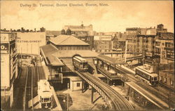 Dudley Street Terminal, Elevated