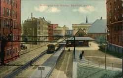 Bird's Eye View of Huntington Avenue Station