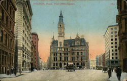 Post Office Square Postcard