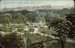 Panoramic View of Public Garden