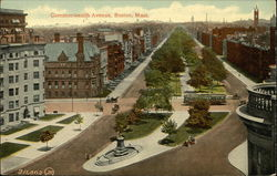 Bird's Eye View of Commonwealth Avenue