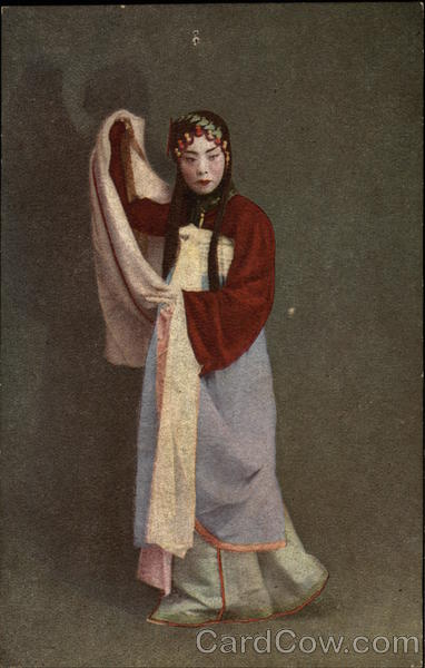 Woman in Traditional Dress Japan