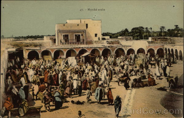 Marche Arabe - Outdoor Market Morocco Africa