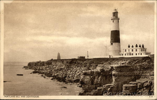 Portland Bill and Lighthouse Weymouth England Dorset