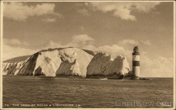 The Needles Rocks & Lighthouse UK