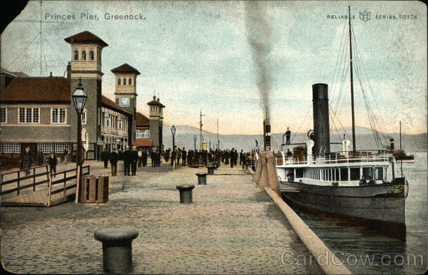 Princes Pier Greenock Scotland