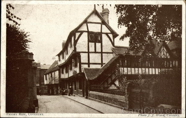 View of Priory Row, Coventry United Kingdom Warwickshire