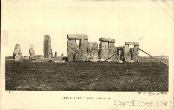 Stonehenge - View Looking In England