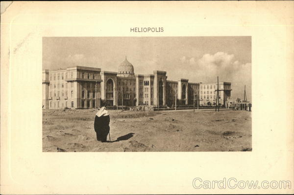 View of Heliopolis Cairo Egypt Africa