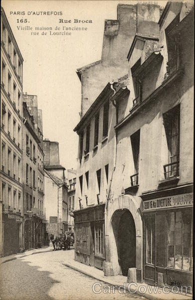 Rue Broca Paris France