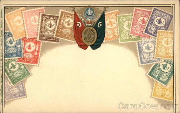 Postage Stamps of Turkey Greece, Turkey, Balkan States