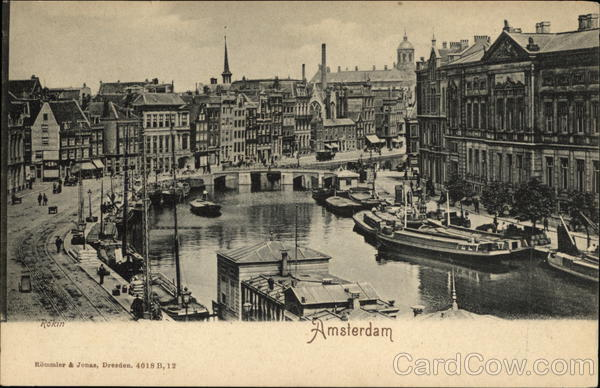 Rokin Amsterdam Netherlands Benelux Countries
