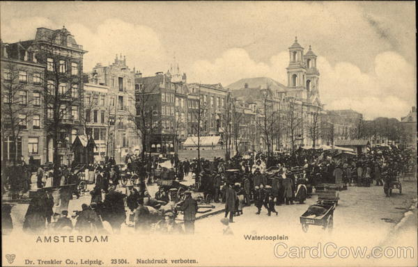 Waterlooplein Amsterdam The Netherlands Benelux Countries