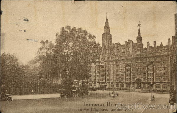 Imperial Hotel London England