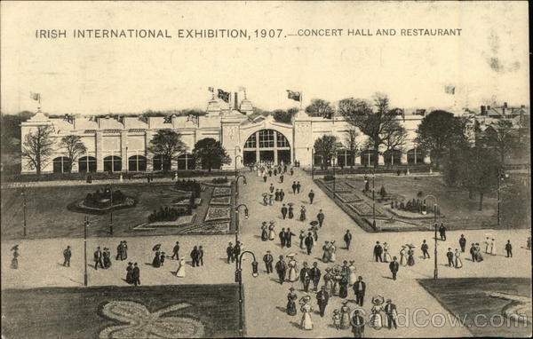 Irish International Exhibition, 1907 Dublin Ireland