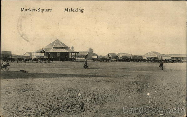 Market Square Mafeking South Africa