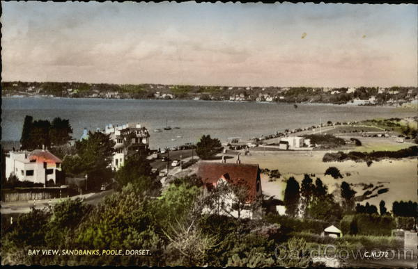 Bay View, Sandbanks Poole England Dorset