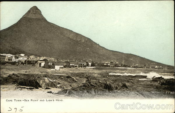 Sea Point and Lion's Head Cape Town South Africa